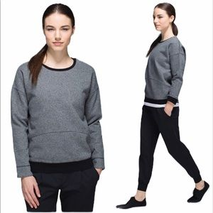 LULULEMON Keep Up Crew Pullover Size 6–A5